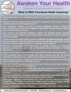 What is FDN® Functional Health Coaching?