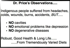 Dr. Price Observations